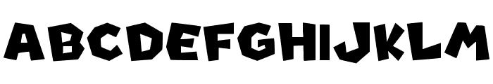 New Super Mario Font U Font UPPERCASE