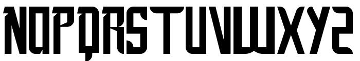 New SuperMan Font LOWERCASE