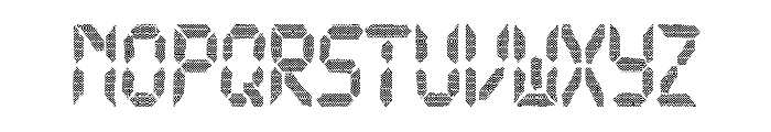 New Watch Font UPPERCASE