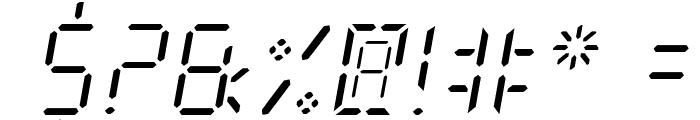 New X Digital tfb Light Font OTHER CHARS