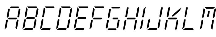 New X Digital tfb Light Font UPPERCASE
