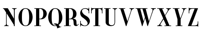 New Yorker Font UPPERCASE