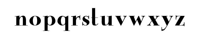 New Yorker Font LOWERCASE