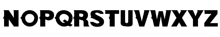 NewBold Bold Font UPPERCASE