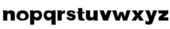 NewBold Bold Font LOWERCASE
