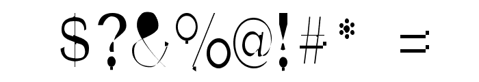 NewBold-Light Font OTHER CHARS