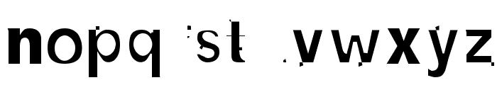 NewBold-Light Font LOWERCASE