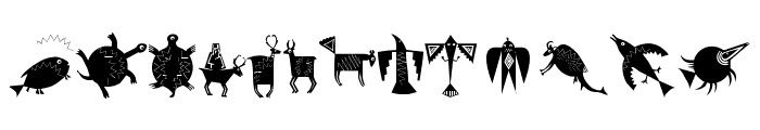 NewCaveDrawings Font UPPERCASE