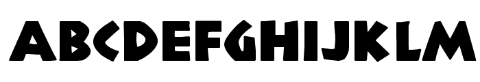 NewCountry Font LOWERCASE