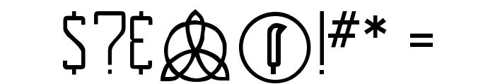 NewDeli Font OTHER CHARS
