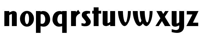 NewForum Bold Font LOWERCASE