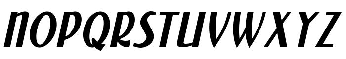 NewForum Italic Font UPPERCASE