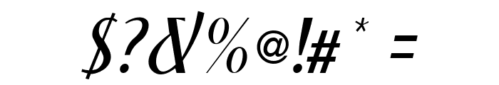 NewForumLight Italic Font OTHER CHARS