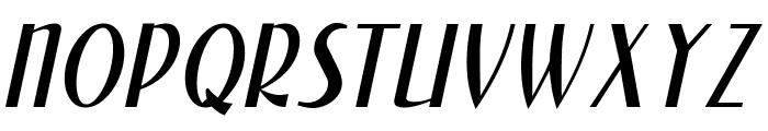 NewForumLight Italic Font UPPERCASE