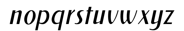 NewForumLight Italic Font LOWERCASE