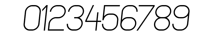 NewMedia Italic Font OTHER CHARS