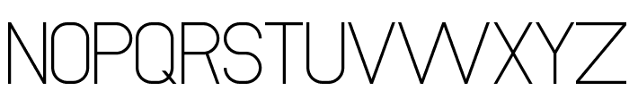 NewMedia Regular Font UPPERCASE