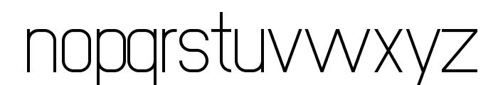 NewMedia Regular Font LOWERCASE
