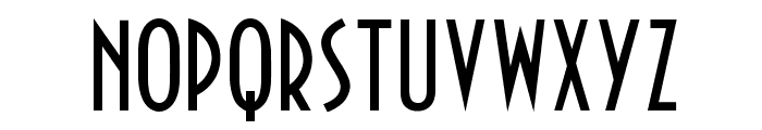 NewPortLandOpti-Regular Font UPPERCASE