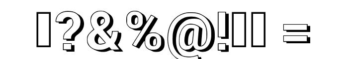 NewRetroStyle3d Font OTHER CHARS