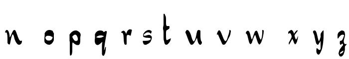 NewSymbolFont4 Font LOWERCASE