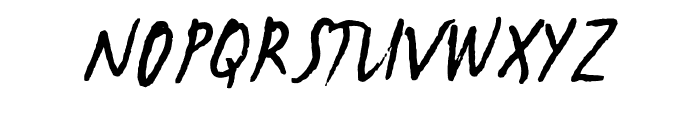 NewWGL4Font Font UPPERCASE
