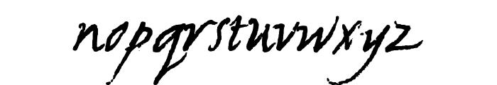 NewWGL4Font Font LOWERCASE