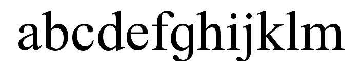 Newbury SILDoulos Font LOWERCASE