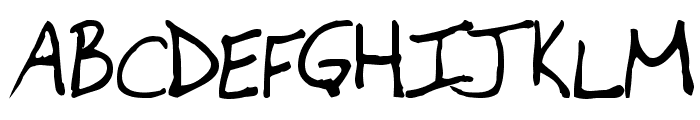 Newfie Font UPPERCASE