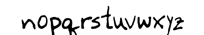 Newfie Font LOWERCASE