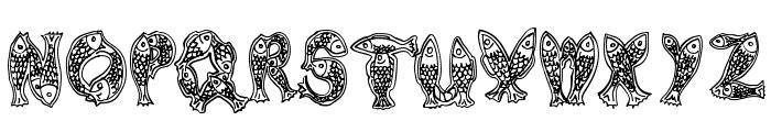 Newlyn Font UPPERCASE