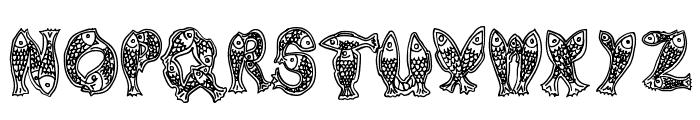 Newlyn Font LOWERCASE
