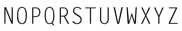 Newport Gothic Font UPPERCASE