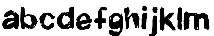Newrotic Font LOWERCASE