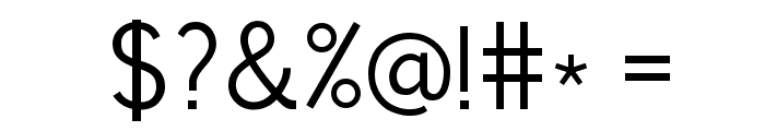 News Cycle Regular Font OTHER CHARS
