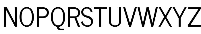 News Cycle Regular Font UPPERCASE