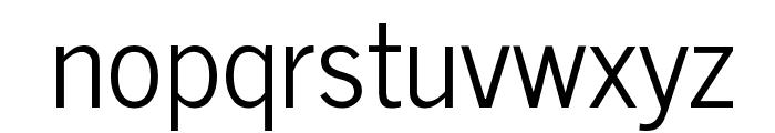 News Cycle Regular Font LOWERCASE