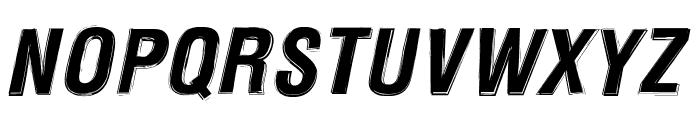 Newside FP Alternate Italic Font UPPERCASE