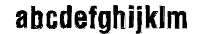 Newside FP Alternate Font LOWERCASE
