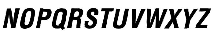 Newside FP Italic Font UPPERCASE