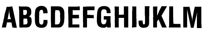 Newside FP Font UPPERCASE