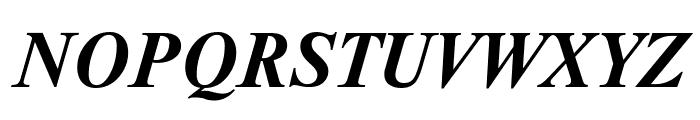 NewtonCTT BoldItalic Font UPPERCASE