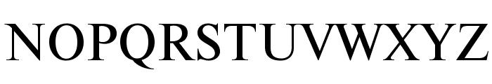 NewtonCTT Font UPPERCASE