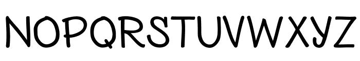 Nexa Rust Handmade Extended Font UPPERCASE
