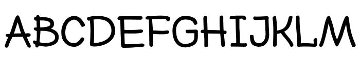 Nexa Rust Handmade Extended Font LOWERCASE