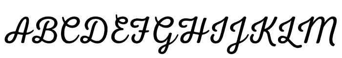 Nexa Rust Script L 0 Font UPPERCASE