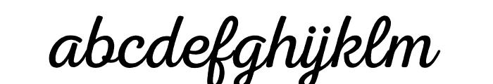 Nexa Rust Script L 0 Font LOWERCASE