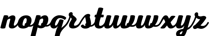 Nexa Script Free Font LOWERCASE