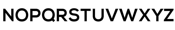 NexaBold Font UPPERCASE
