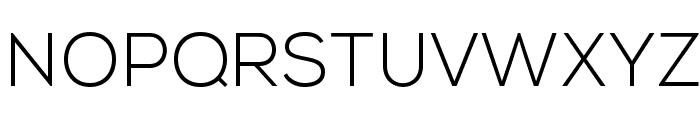 NexaLight Font UPPERCASE